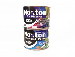 Флуоресцентная краска для пластмассы и ПВХ NoxTon for Plastics белая