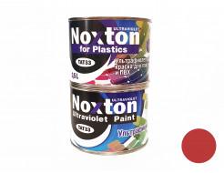 Флуоресцентная краска для пластмассы и ПВХ NoxTon for Plastics темно-красная