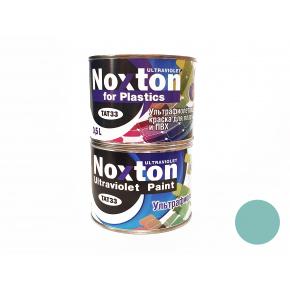 Флуоресцентная краска для пластмассы и ПВХ NoxTon for Plastics голубая