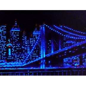 Краска люминесцентная AcmeLight Interior для стен синяя - интернет-магазин tricolor.com.ua