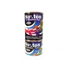 Флуоресцентная краска для систем безопасности NoxTon for Evacuation Signs белая - изображение 2 - интернет-магазин tricolor.com.ua