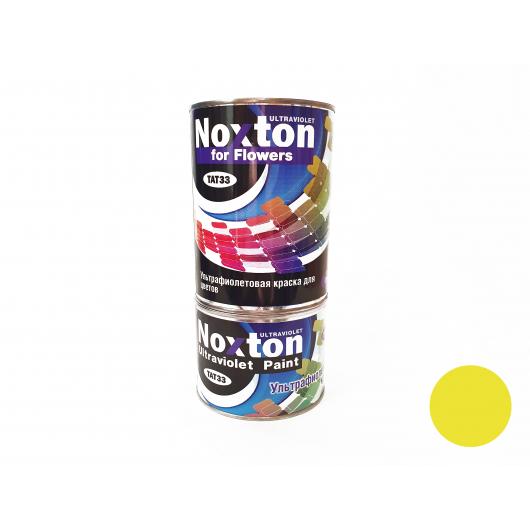 Флуоресцентная краска для цветов NoxTon for Flowers желтая