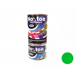 Флуоресцентная краска для цветов NoxTon for Flowers зеленая