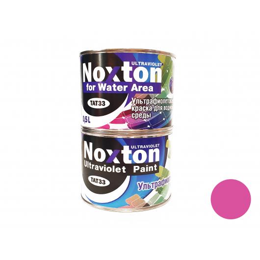 Флуоресцентная краска для водной среды NoxTon for Water Area розовая