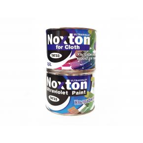 Флуоресцентная краска для ткани NoxTon for Cloth белая - интернет-магазин tricolor.com.ua
