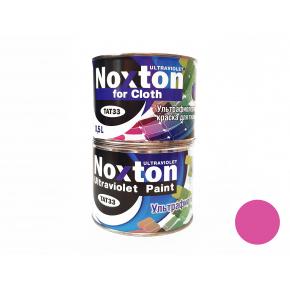 Флуоресцентная краска для ткани NoxTon for Cloth розовая
