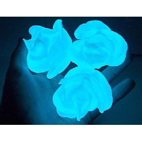 Краска люминесцентная AcmeLight Plastic 2K для пластика голубая