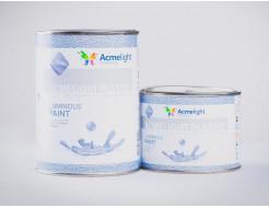 Краска люминесцентная AcmeLight для пластика (2К) голубая - изображение 2 - интернет-магазин tricolor.com.ua