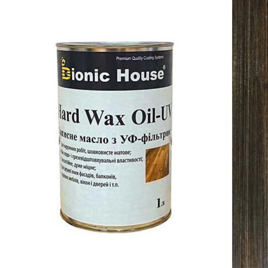 Масло для дерева Bionic House Hard Wax Oil - UV с твердым воском и УФ-защитой Черное - интернет-магазин tricolor.com.ua