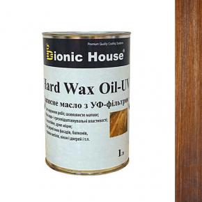 Масло для дерева Bionic House Hard Wax Oil - UV с твердым воском и УФ-защитой Миндаль