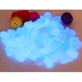 Люминесцентные пластиковые камни AcmeLight PVC Stones голубые
