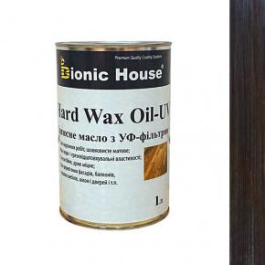 Масло для дерева Bionic House Hard Wax Oil - UV с твердым воском и УФ-защитой Палисандр