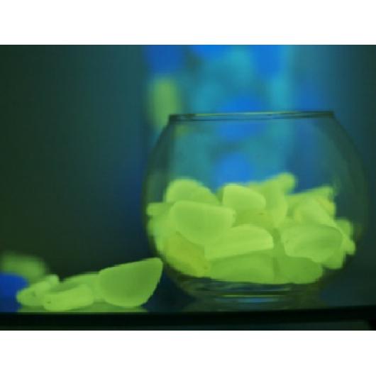 Люминесцентные пластиковые камни AcmeLight PVC Stones зеленые