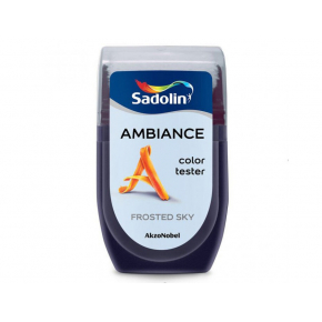 Тестер краски Sadolin Ambiance Frosted Sky - интернет-магазин tricolor.com.ua