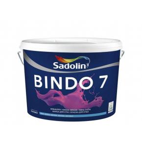 Краска для стен Sadolin Bindo 7 белая матовая