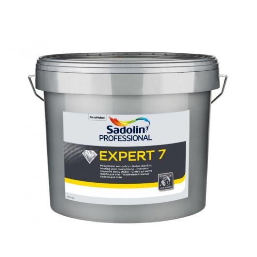 Краска для стен Sadolin Expert 7 белая матовая моющаяся