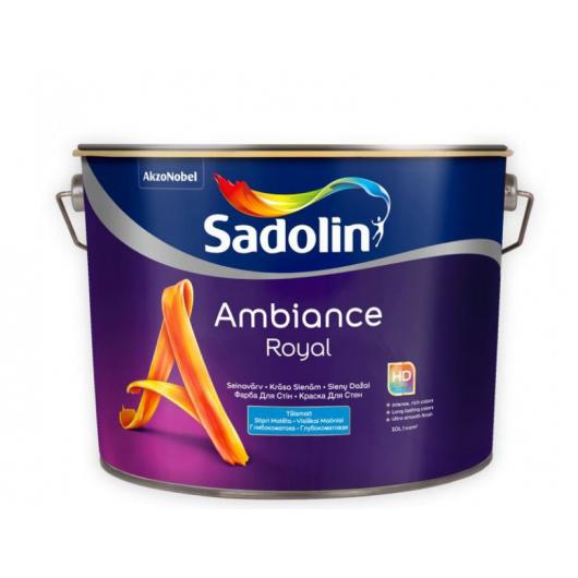 Краска для стен Sadolin Ambiance Royal база BC глубокоматовая моющаяся
