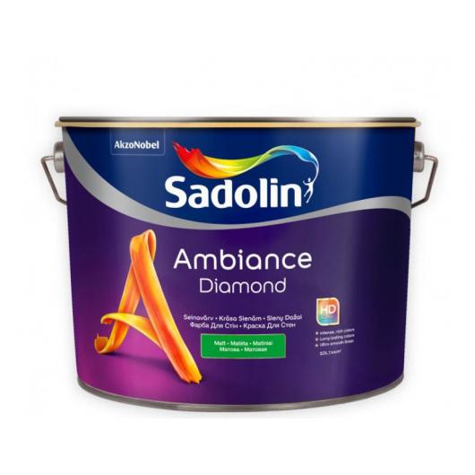 Краска для стен Sadolin Ambiance Diamond белая матовая износостойкая - интернет-магазин tricolor.com.ua