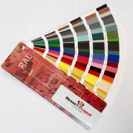 Каталог цветов RAL Hesse Lignal (207 цветов) - изображение 2 - интернет-магазин tricolor.com.ua