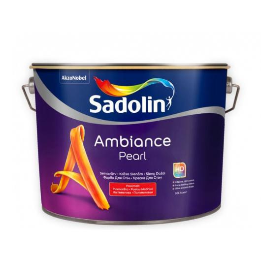 Краска для стен Sadolin Ambiance Pearl база BC полуматовая износостойкая
