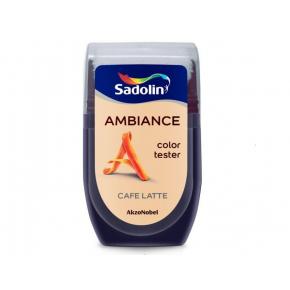 Тестер краски Sadolin Ambiance Cafe Latte - интернет-магазин tricolor.com.ua