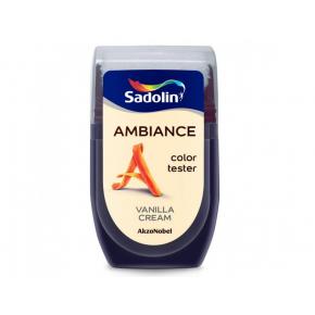 Тестер краски Sadolin Ambiance Vanilla Cream - интернет-магазин tricolor.com.ua