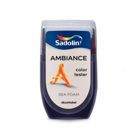 Тестер краски Sadolin Ambiance Sea Foam - интернет-магазин tricolor.com.ua