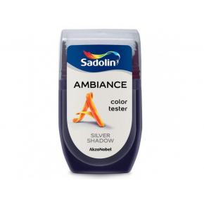 Тестер краски Sadolin Ambiance Silver Shadow - интернет-магазин tricolor.com.ua