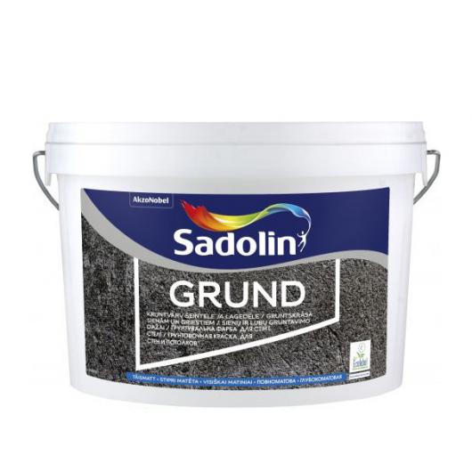 Грунт-краска Sadolin Grund для впитывающих поверхностей