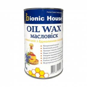 Масло-воск для дерева с пчелиным воском Bionic House в цвете (грэй) - изображение 4 - интернет-магазин tricolor.com.ua