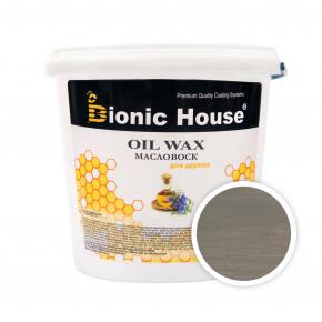 Масло-воск для дерева с пчелиным воском Bionic House в цвете (грэй) - интернет-магазин tricolor.com.ua