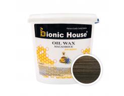 Масло-воск для дерева с пчелиным воском Bionic House в цвете (черный)