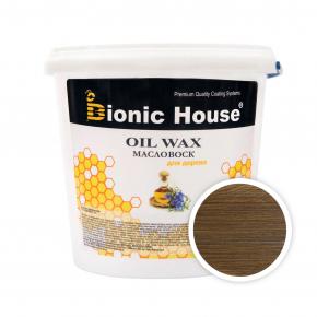 Масло-воск для дерева с пчелиным воском Bionic House в цвете (орех) - интернет-магазин tricolor.com.ua