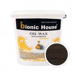 Масло-воск для дерева с пчелиным воском Bionic House в цвете (палисандр) - интернет-магазин tricolor.com.ua
