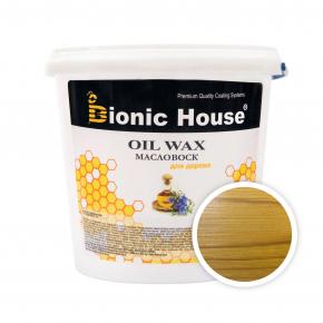 Масло-воск для дерева с пчелиным воском Bionic House в цвете (сосна)