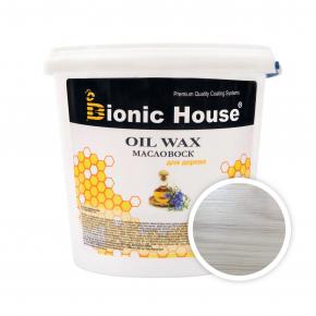 Масло-воск для дерева с пчелиным воском Bionic House в цвете (белый) - интернет-магазин tricolor.com.ua