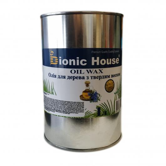 Масло-воск для дерева с карнаубским воском Bionic House в цвете (грэй) - изображение 2 - интернет-магазин tricolor.com.ua