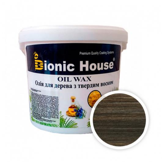 Масло-воск для дерева с карнаубским воском Bionic House в цвете (черный) - интернет-магазин tricolor.com.ua