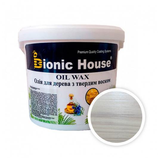 Масло-воск для дерева с карнаубским воском Bionic House в цвете (белый) - интернет-магазин tricolor.com.ua