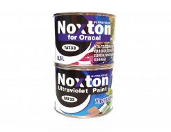 Флуоресцентная краска для оракала и самокл. пленки NoxTon for Oracal белая - интернет-магазин tricolor.com.ua