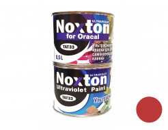 Флуоресцентная краска для оракала и самокл. пленки NoxTon for Oracal темно-красная
