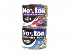 Флуоресцентная краска для оракала и самокл. пленки NoxTon Silk Screen for Oracal белая