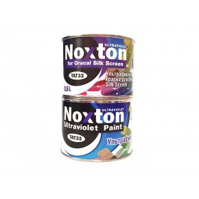 Флуоресцентная краска для оракала и самокл. пленки NoxTon Silk Screen for Oracal белая - интернет-магазин tricolor.com.ua