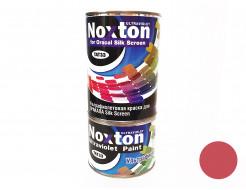 Флуоресцентная краска для оракала и самокл. пленки NoxTon Silk Screen for Oracal красная