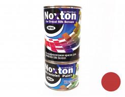 Флуоресцентная краска для оракала и самокл. пленки NoxTon Silk Screen for Oracal темно-красная