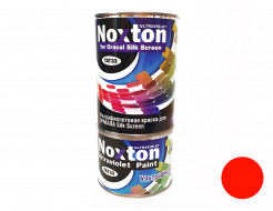 Флуоресцентная краска для оракала и самокл. пленки NoxTon Silk Screen for Oracal оранжевая