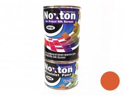 Флуоресцентная краска для оракала и самокл. пленки NoxTon Silk Screen for Oracal темно-оранжевая