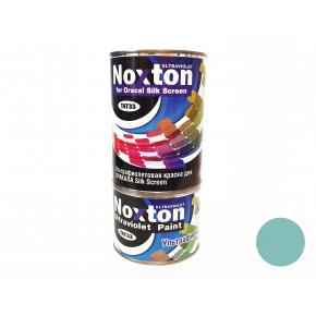Флуоресцентная краска для оракала и самокл. пленки NoxTon Silk Screen for Oracal голубая