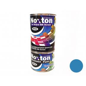 Флуоресцентная краска для оракала и самокл. пленки NoxTon Silk Screen for Oracal синяя
