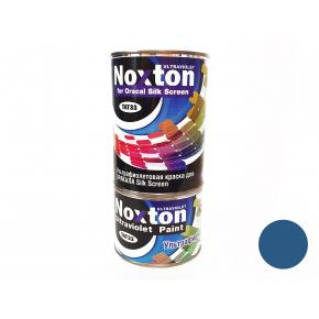 Флуоресцентная краска для оракала и самокл. пленки NoxTon Silk Screen for Oracal темно-синяя